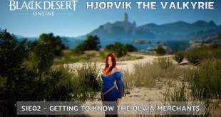 Lets Talk Gaming - Black Desert Online - Adventures of Hjorvik the Valkyrie - S01E02 - Gaining knowledge about the Olvia villagers and merchants - Site