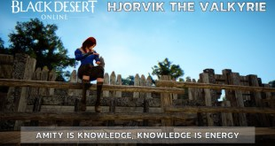 Lets Talk Gaming - Black Desert Online - Adventures of Hjorvik the Valkyrie - S1E03 - Amity is Knowledge, Knowledge is Energy