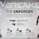 Lawbreakers: Enforcer Infographic