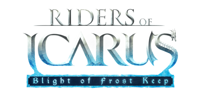 Riders of Icarus - Blight of Frost Keep - Logo