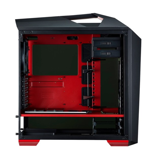 Dual-Tone red and black finish makes the MasterCase Maker 5T stand out!