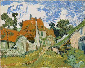 "Van Gogh's Street in Auers-sur-Oise from ""Unfinished"" exhibition at the Met Breuer, Metropolitan Museum of Art,"