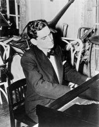 Leonard Bernstein as pianist. Photo courtesy of The Leonard Bernstein Office, Inc