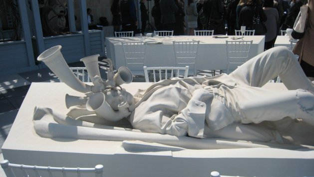 The Theater of Disappearance, Rojas' rooftop installation for the Metropolitan Museum of Art, NYC, Summer 2017
