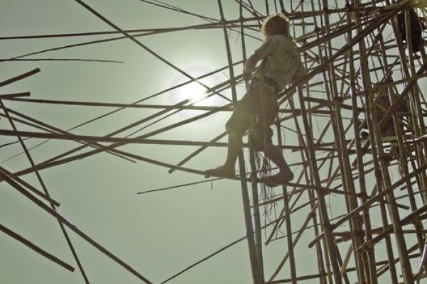 Big Bambu installation … it must have been a lot of fun to build it!