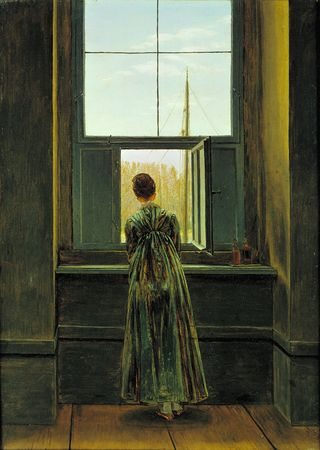 Caspar David Friedrich, Woman at the Window (1822)