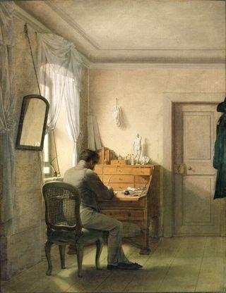 Kersting | Man at His Desk