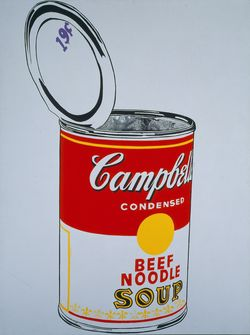 Andy Warhol | Big Campbells Soup Can