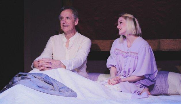 Roger Rathburn as Charles, Hayley Hoffmeister as Emma. Photo: Andrew Nuzhnyy.