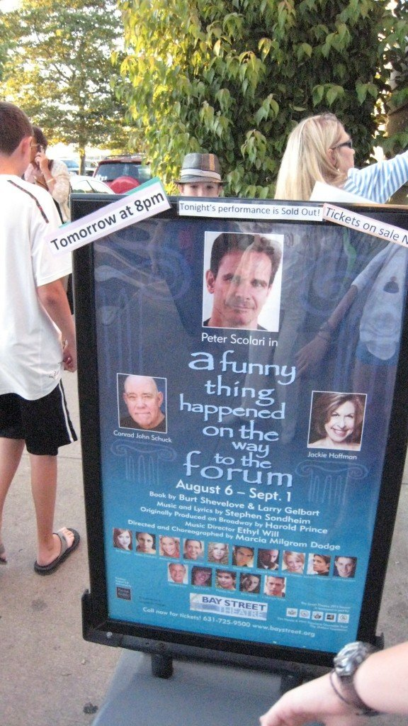 A Funny Thing Happened on the way to the Forum @ Bay Street Theater