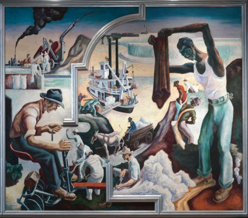 Thomas Hart Benton | Changing West