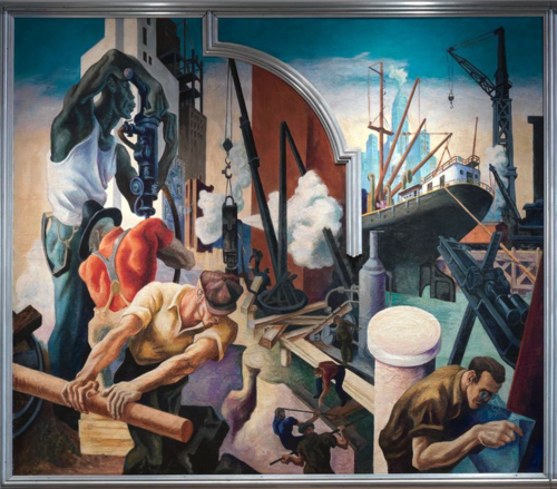 Thomas Hart Benton | Coal