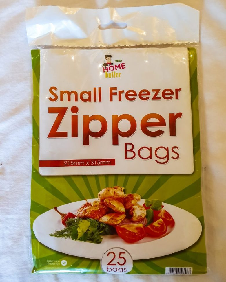 Ziplock bags used during our travels