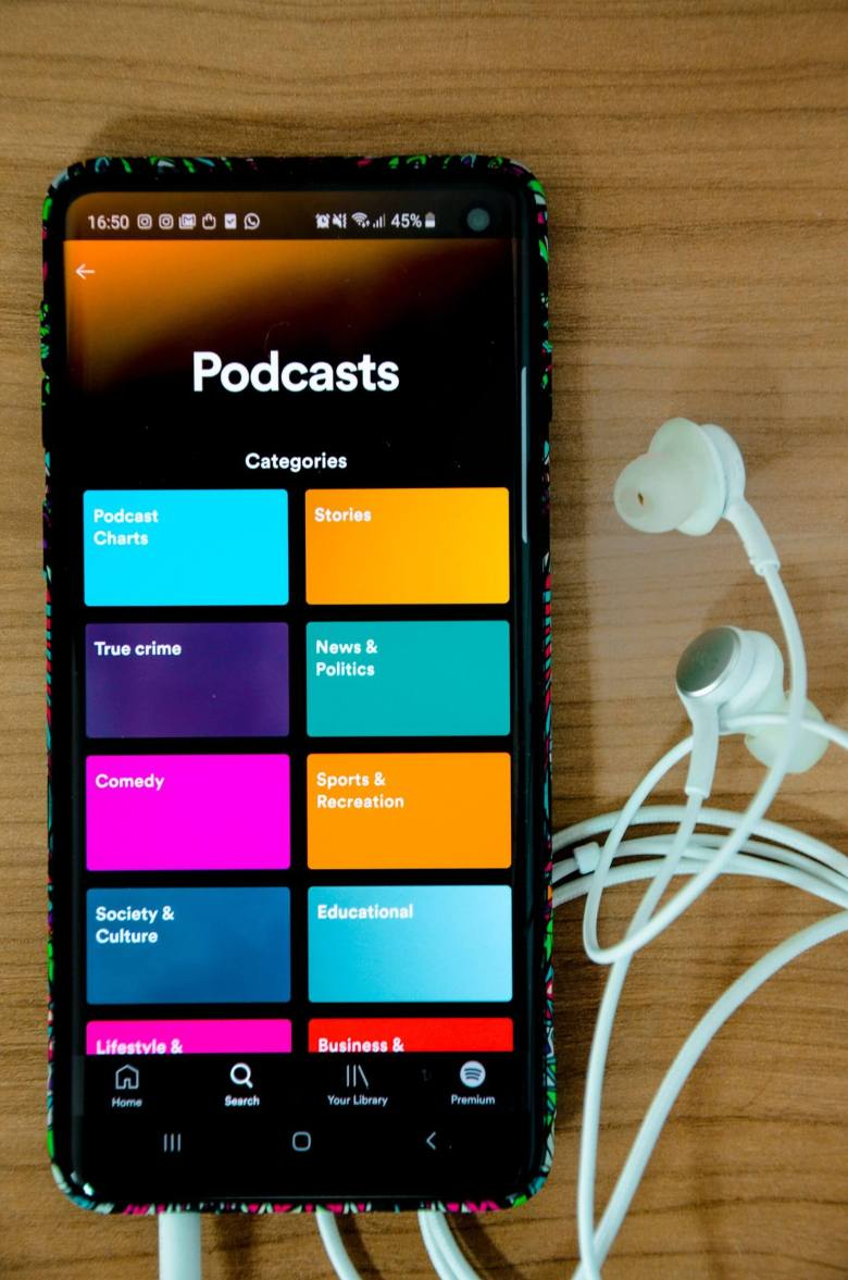 Podcasts are becoming more popular. It's perfect for building an online following without the usual social media platforms. This can turn into a way to make money online