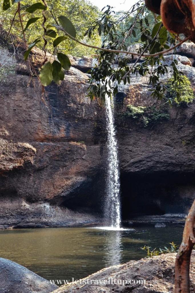 A beautiful waterfall in Khao Yai National park.