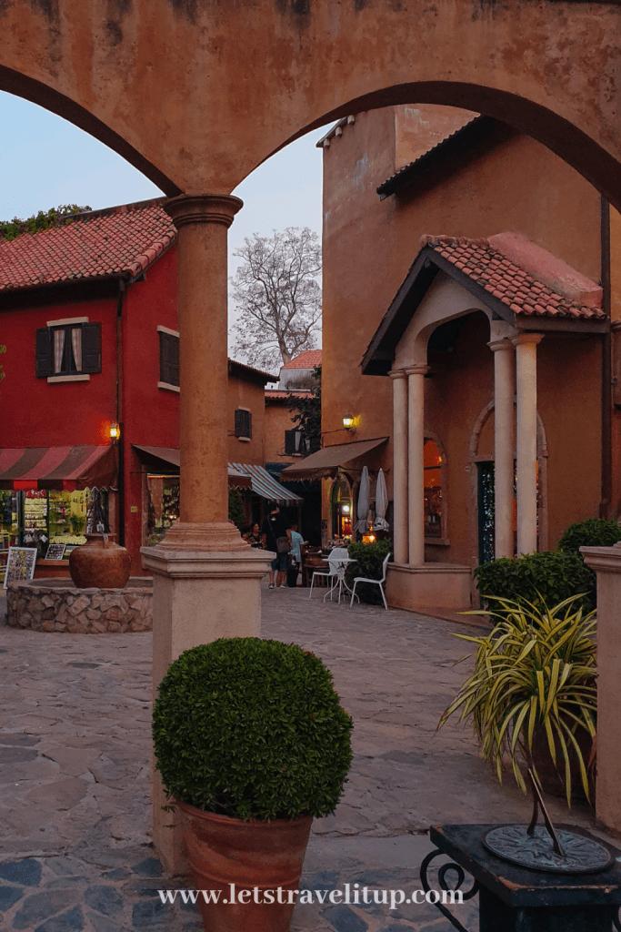 Palio Village is a small italian style village in Khao Yai Thailand