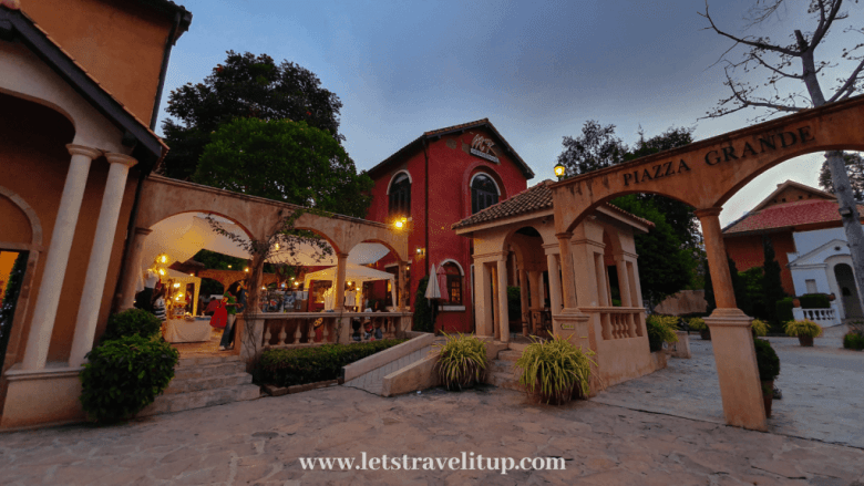 One thing to do in Khao Yai is visiting this beautiful Palio Village