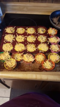 Added cheese to the top