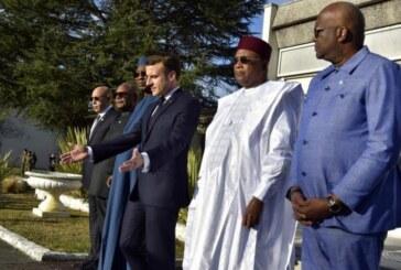 A Pau, Emmanuel Macron réunit les chefs d'État du G5Sahel