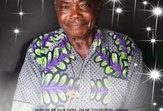 Le contrôleur général des finances à la retraite Jos – Jonas Maménè – Mokosson et ancien directeur du contrôle financier vient de tirer sa révérence