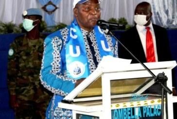 Centrafrique : Discours d'investiture du candidat du MCU à la prochaine présidentielle Faustin Archange Touadéra