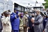 RDC : Tshisekedi traverse le fleuve Congo pour les festivités des 80 ans du manifeste de Brazzaville