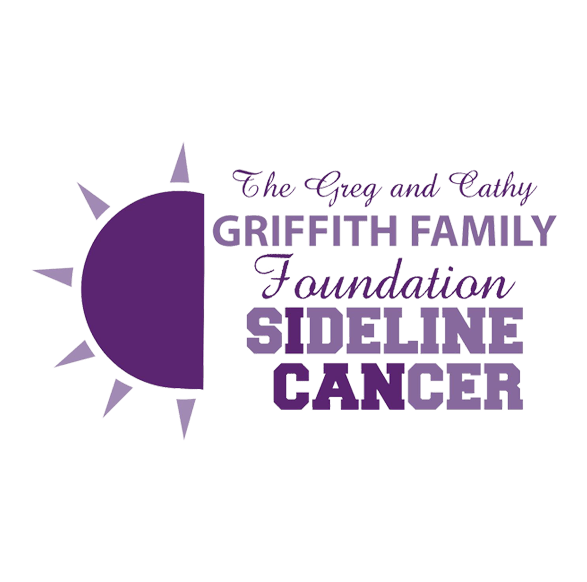 Griffith Family Foundation Logo In Light And Dark Purple