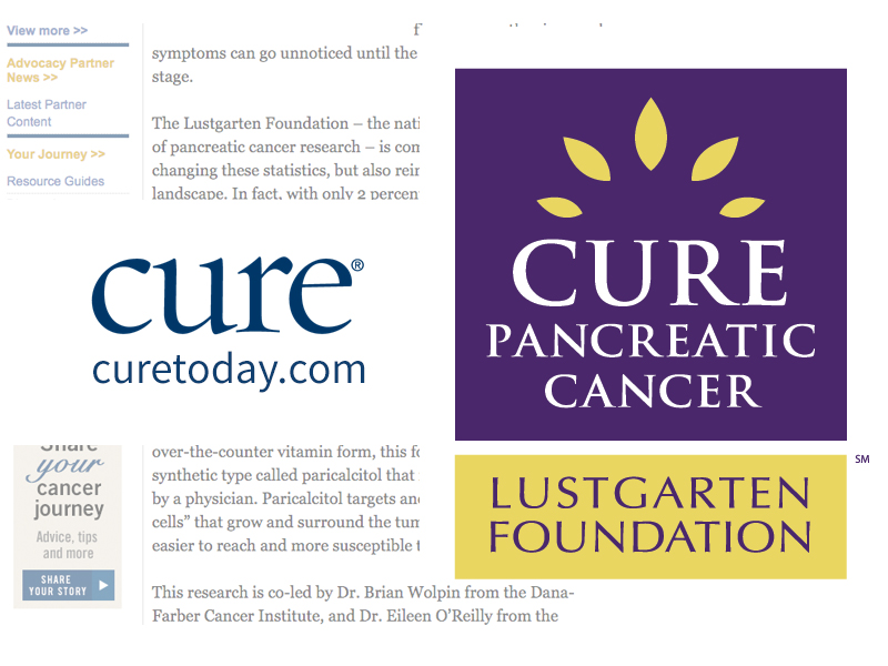 CURE Magazine: A Promising New Treatment Offers Hope in the Fight Against Pancreatic Cancer