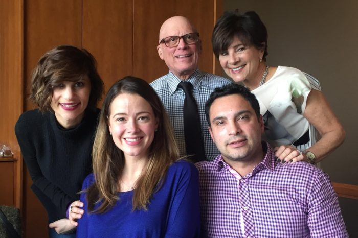 Pancreatic cancer patient Dr. Mark Fishman (rear, standing) and his family