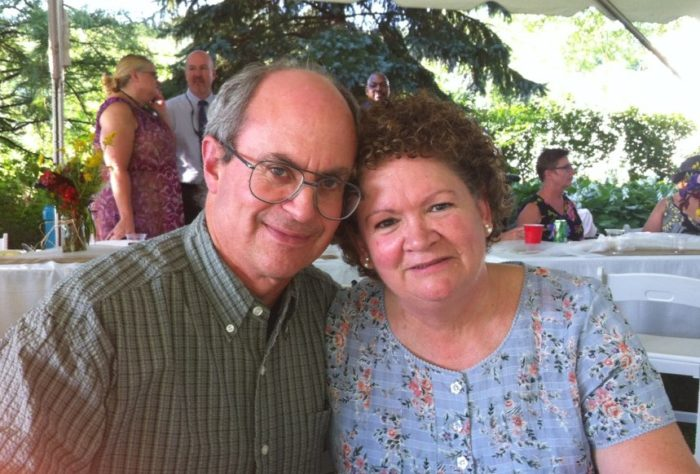Susan Zbacnik and her husband