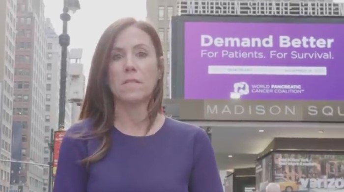Cindy Gavin Demands Better For World Pancreatic Cancer Day