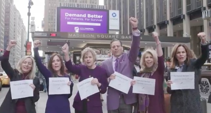 World Pancreatic Cancer Coalition Members Demand Better On World Pancreatic Cancer Day
