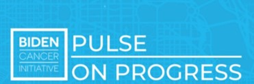 Biden Cancer Initiative magazine Pulse on Progress logo