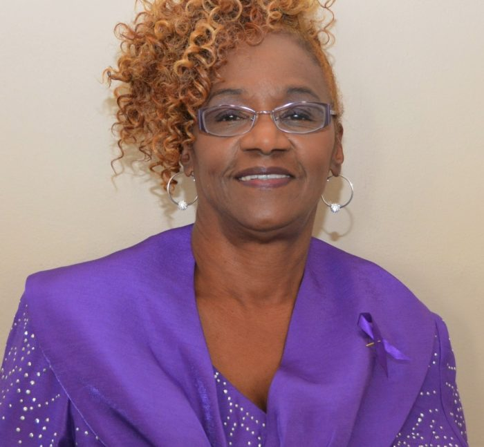 Pancreatic cancer survivor Jacqueline Sims-Mayes