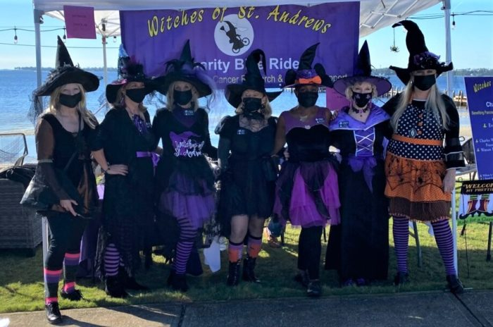 2020 Witches of St. Andrews charity bicycle ride