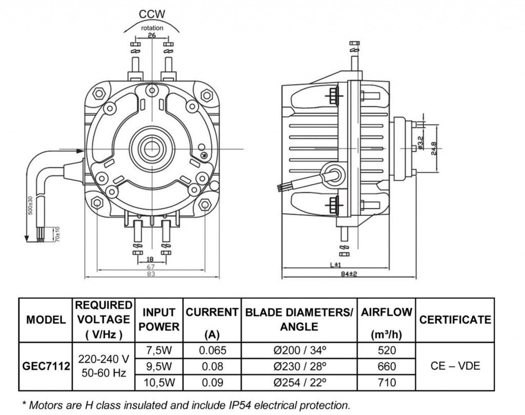 Ec Motor Lett Equipment