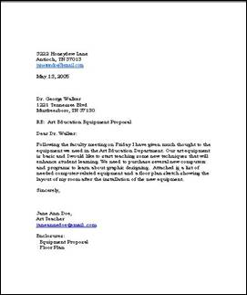 Business reply letter
