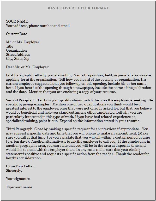 L&R] Cover Letter Examples 2   Letter & Resume