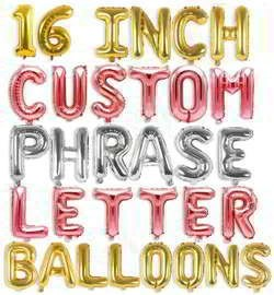 Create Your Own Balloon Banner