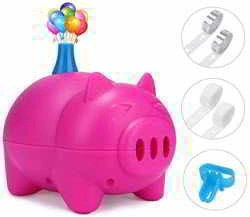 LIKEE Electric Balloon Pump Portable Balloon Inflator