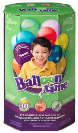 Standard Helium Balloon Kit [3 Pieces] - Product Description - Standard Helium Balloon Kit . Includes (1) Helium Tank (8.9 Cubic Ft.)