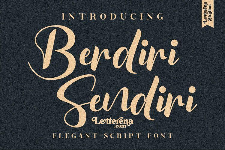 Preview image of Berdiri Sendiri