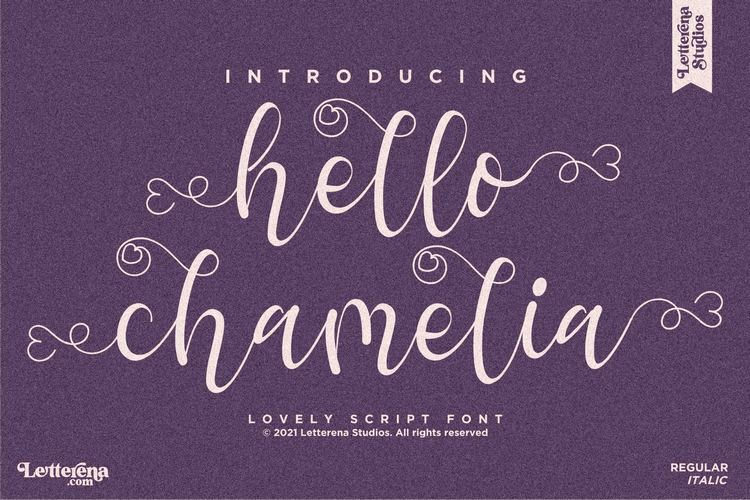 Preview image of hello chamelia