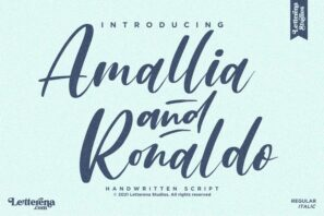 Amallia and Ronaldo
