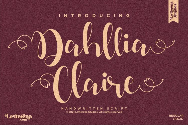 Preview image of Dahllia Claire