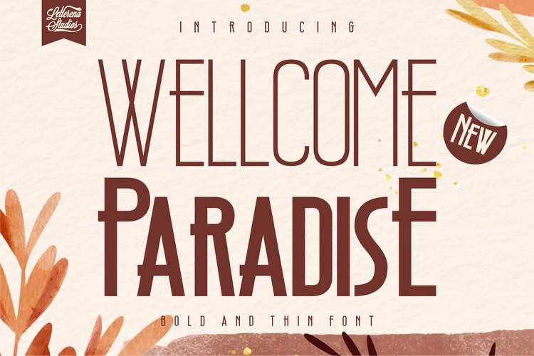 Preview image of Wellcome Paradise