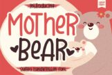 Last preview image of Mother Bear