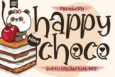 Last preview image of Happy Choco