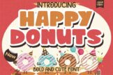 Last preview image of Happy Donuts