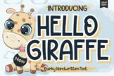 Last preview image of Hello Giraffe